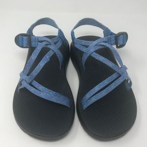 Chaco Womens Z Cloud X Size 9 Blue Sandals Strappy